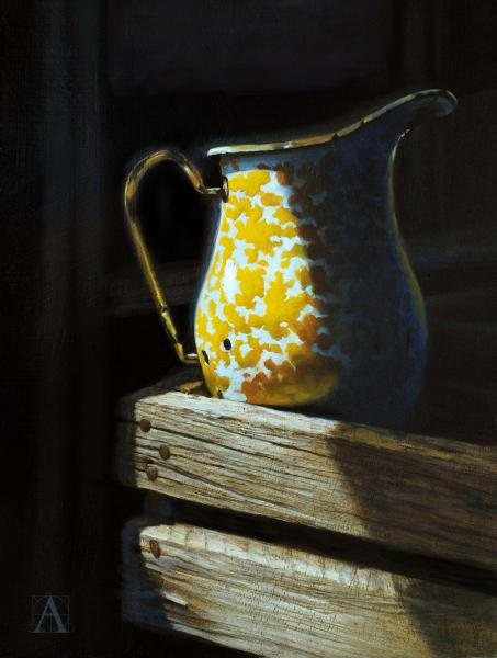 Rise and Shine, oil on panel, 14 x 11 inches, $1,850