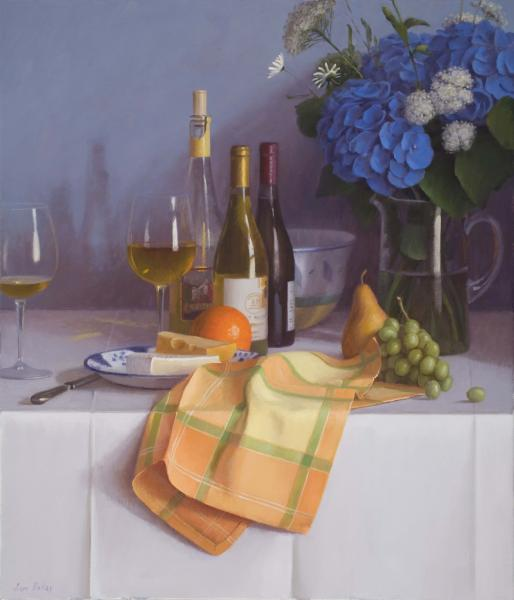 Summer Wines, oil on linen, 28 x 24 inches  SOLD