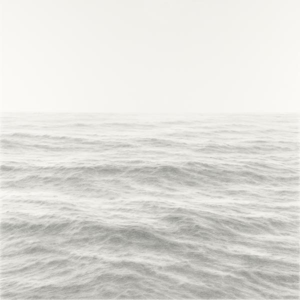 Far and Away, graphite on paper, 38 x 38 inches  SOLD