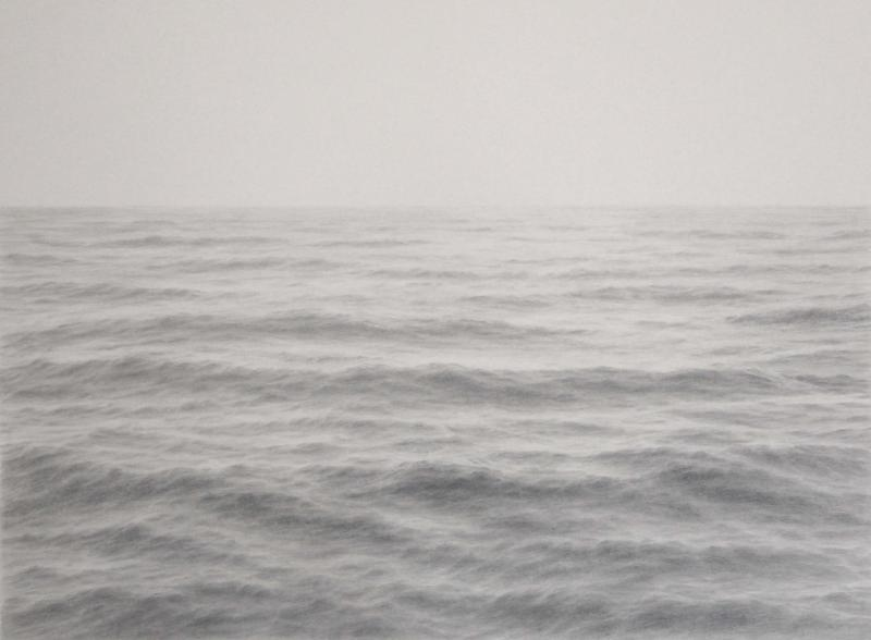 Open Ocean XXII, graphite on paper, 20 x 28 inches   SOLD