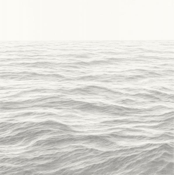 Layers of Flow, graphite on paper, 36 x 36 inches, $8,500