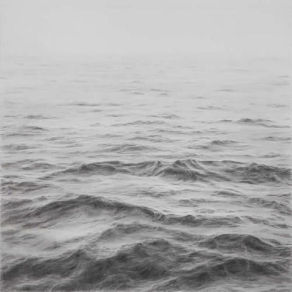 Open Ocean III, graphite on paper, 18 x 24 inches  SOLD