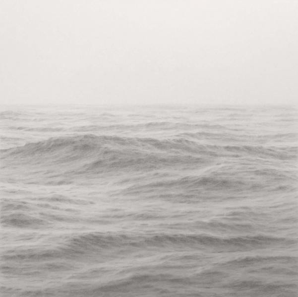 Open Ocean XXVI, graphite on paper, 17 x 17 inches  SOLD