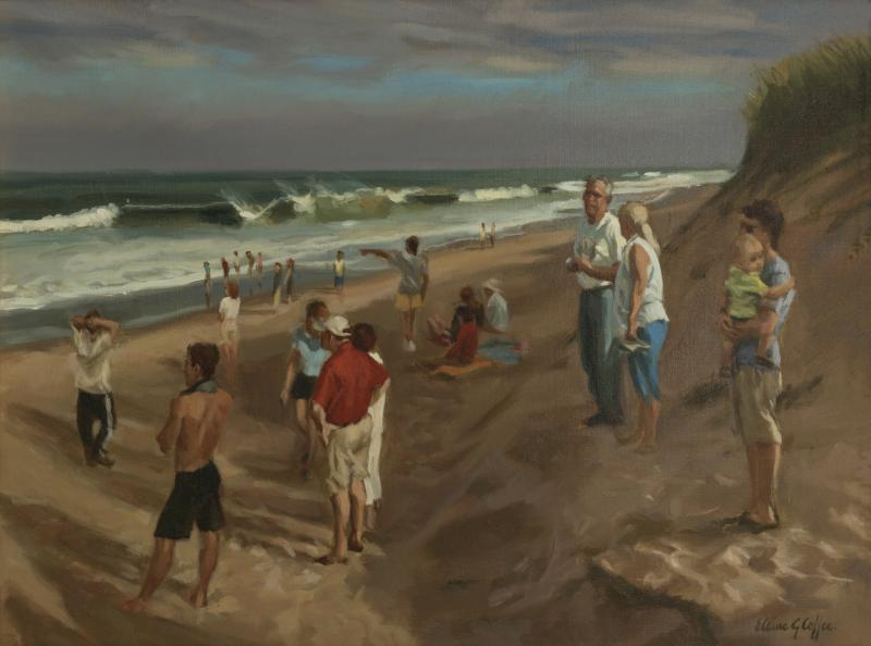 After the Hurricane , oil on linen , 18 x 24 inches  SOLD