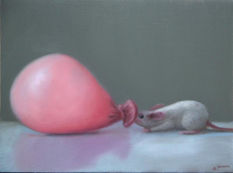 Big Blow, oil on panel, 6 x 8 inches   SOLD