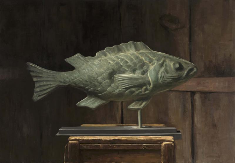 Antique Cod Weathervane
