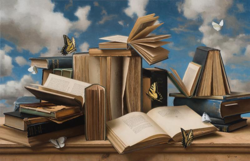 Books and Butterflies #3