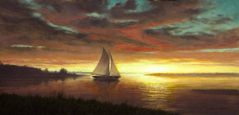 Harbor Twilight, Psalms 36:7