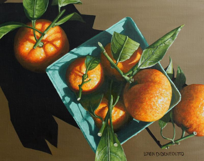 Tangerines from Above