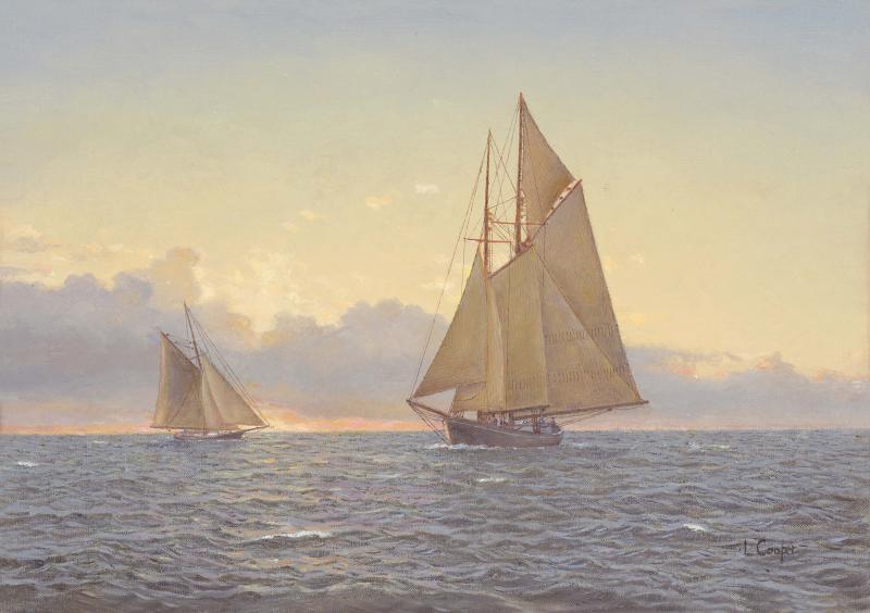 Clintonia gloucester fishing schooner 1910 (2)lr