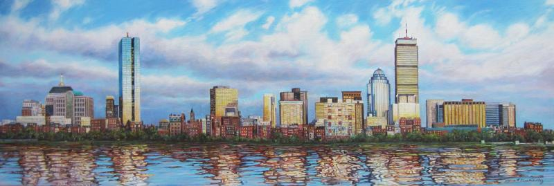 Back Bay from the Charles