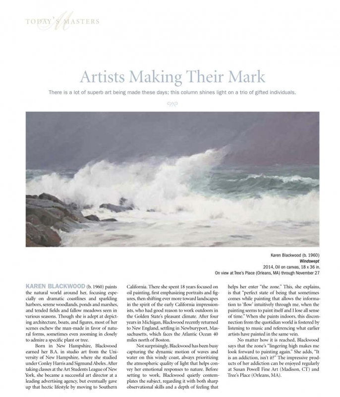 Artists making their mark